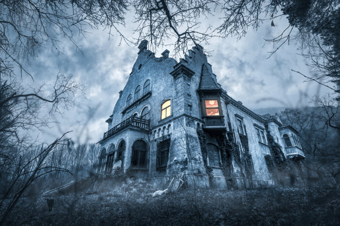 A haunted villa
