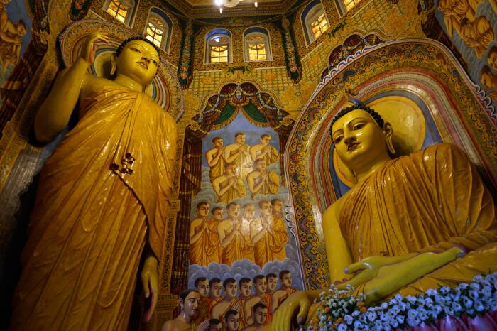 A Buddhist temple in Kalutara