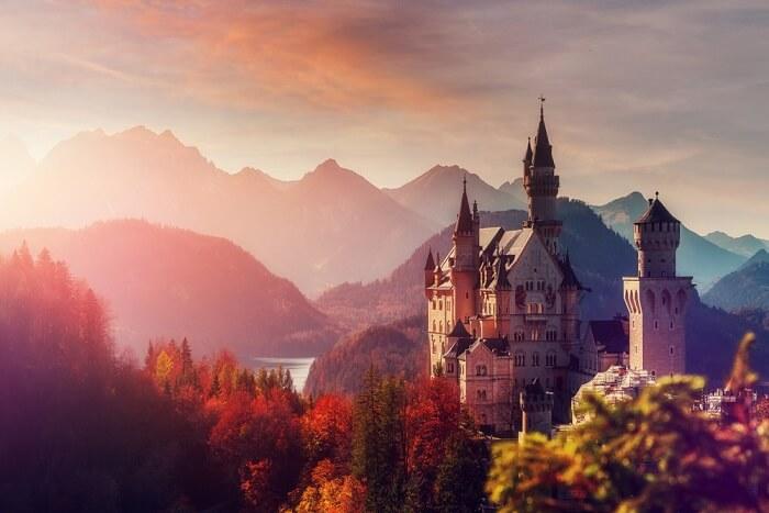 famous castle in Munich