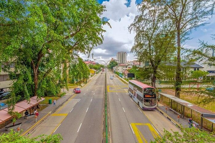 city view of Geylang