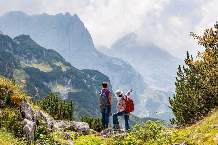 Cover for Trekking in Montenegro