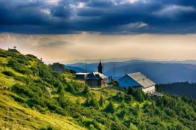 beautiful town in moldova