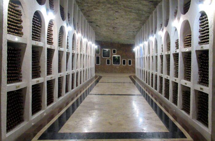 Cricova Winery Underground Wine Cellar