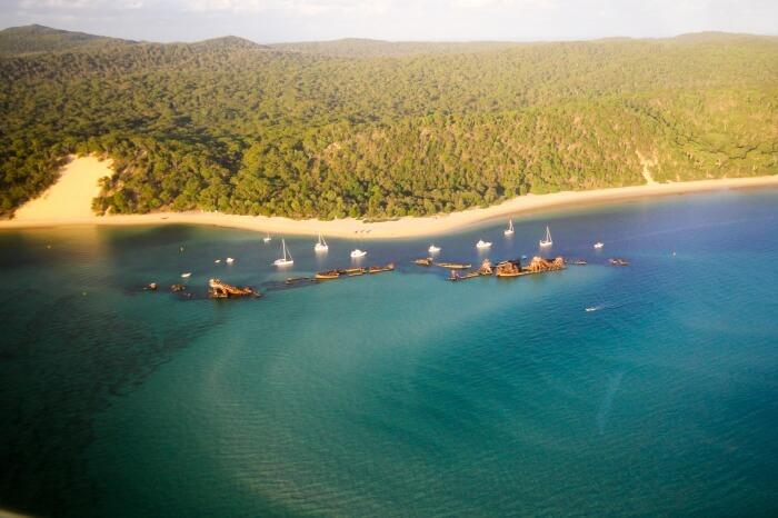 Dolphin Cruise to the Tangalooma Wrecks