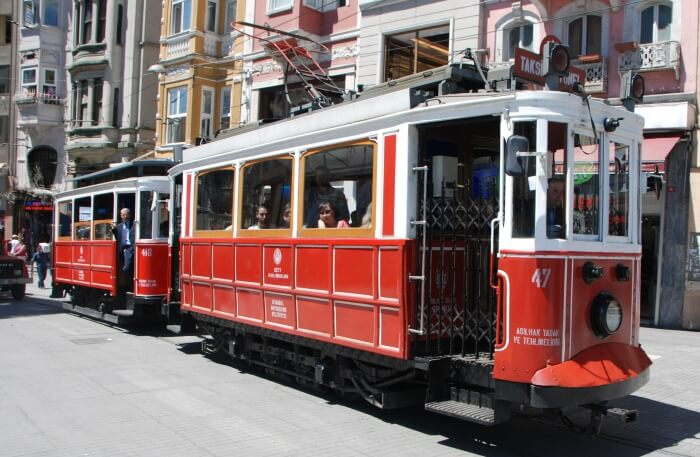 Don't Take The Tram In Istiklal