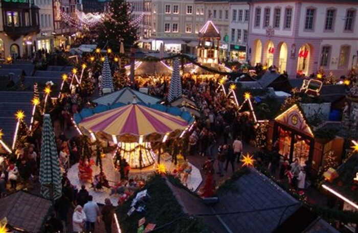 Enjoy Shopping At The Christmas Markets