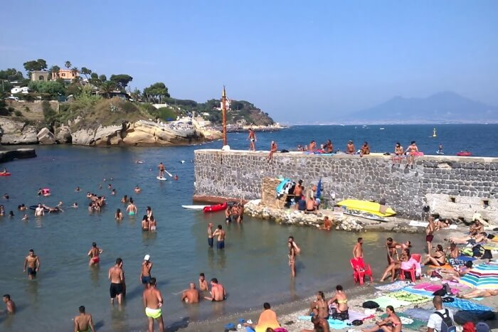Gaiola beach