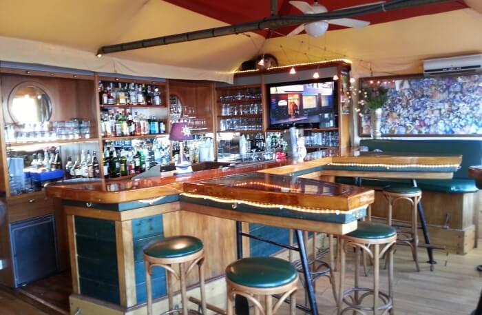 Gerhard's café in Monaco