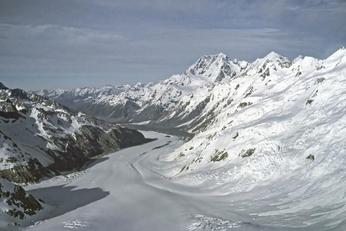 Glaciers of West Coast