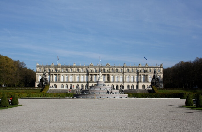 Herrenchiemsee Castle View