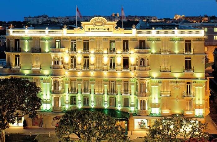 Hotel Hermitage in Monaco