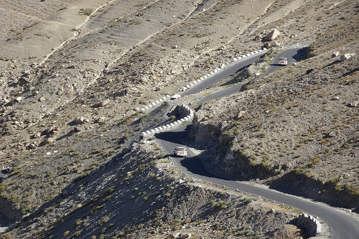 road in Spiti valley