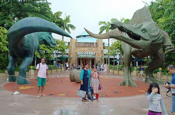At Jurassic Park