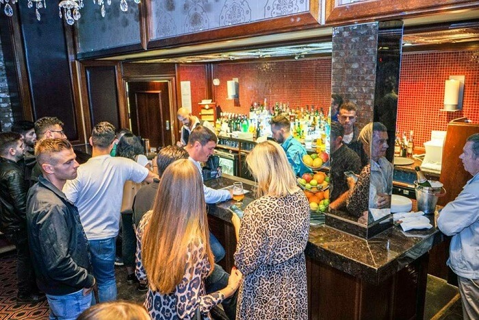 famous compact bar in London