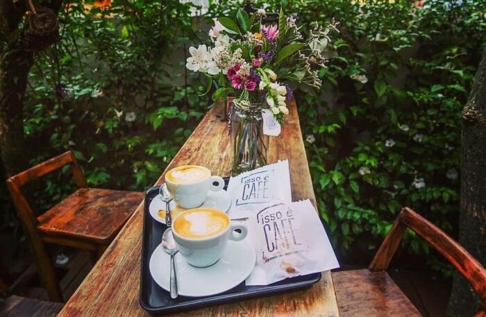 Isso e'Café view