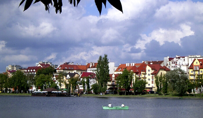 Lake Ełk in Poland
