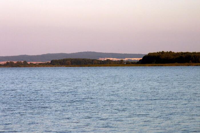 Lake Jamno in Poland