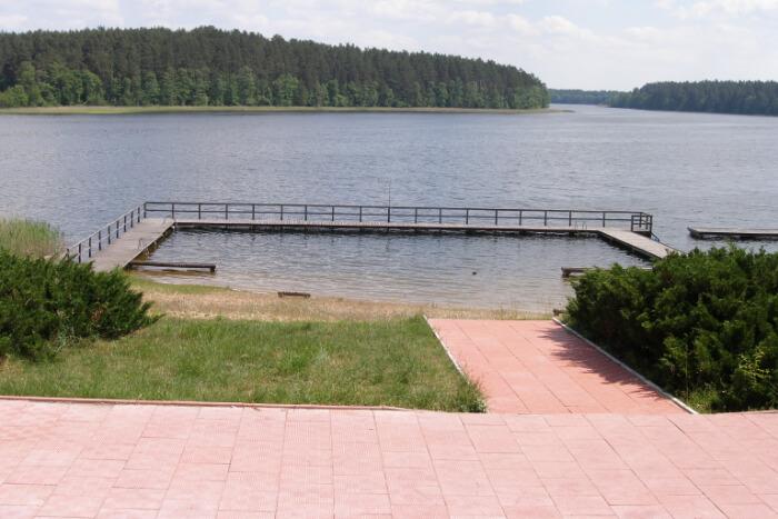 Lake Orzysz iin Poland