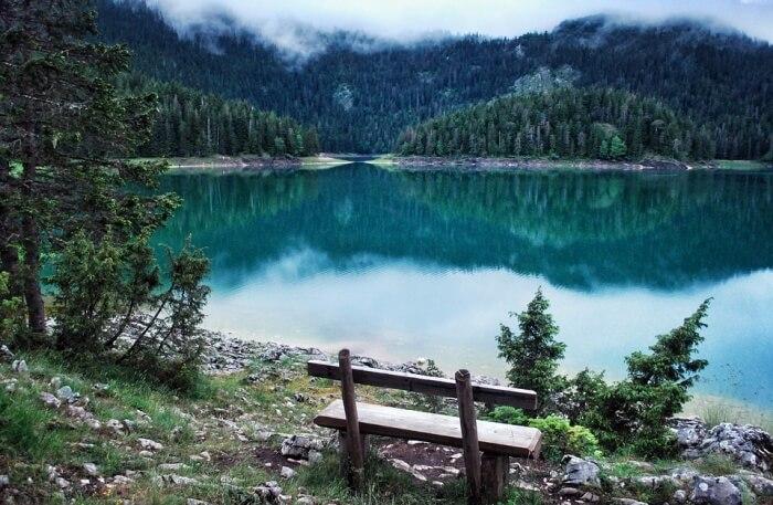 Lake Sas in Montenegro