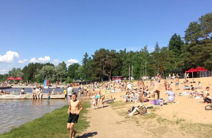 Lake Verevi Beach