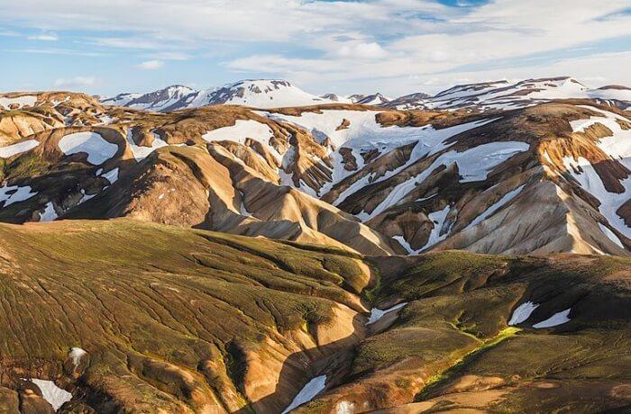 Laugavegur Trek Route