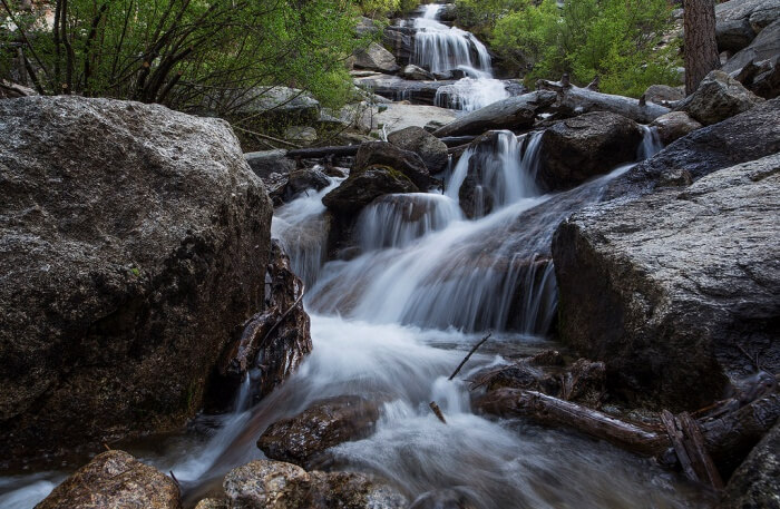 Lone Pine Creek view