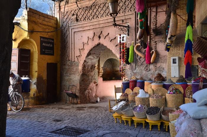 Marrakech in Morocco
