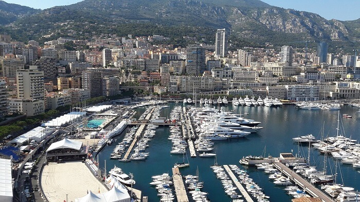 Monaco Harbour Monte Carlo