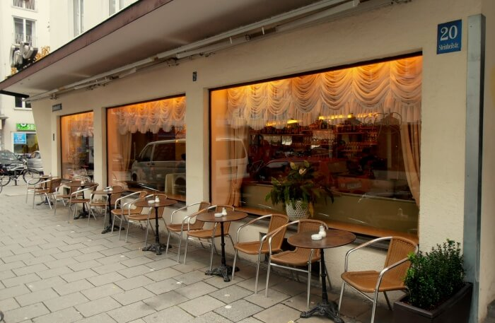 Munich Cafe view