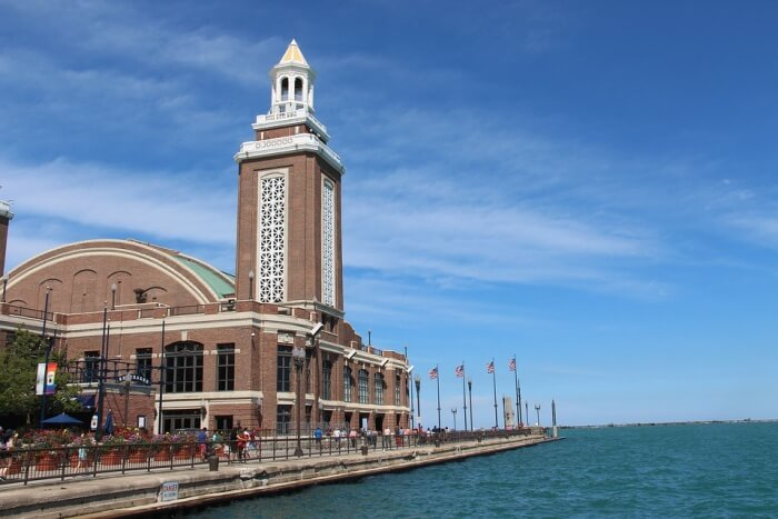 Navy Pier Walk (and ride)