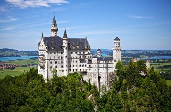 Neuschwanstein Castle in Munich