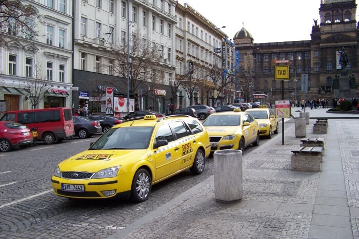 Never flag unmarked taxis
