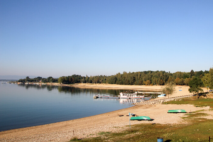 Nyskie Lake in Poland