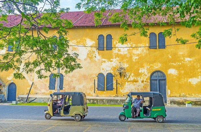 Galle, Old Town