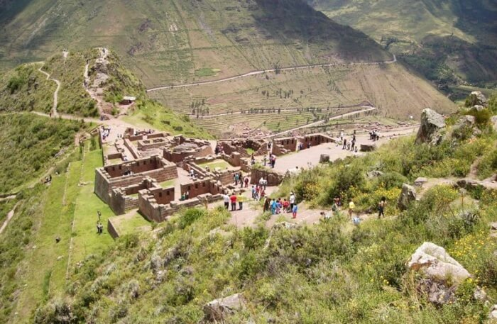 Pisac Terraces view