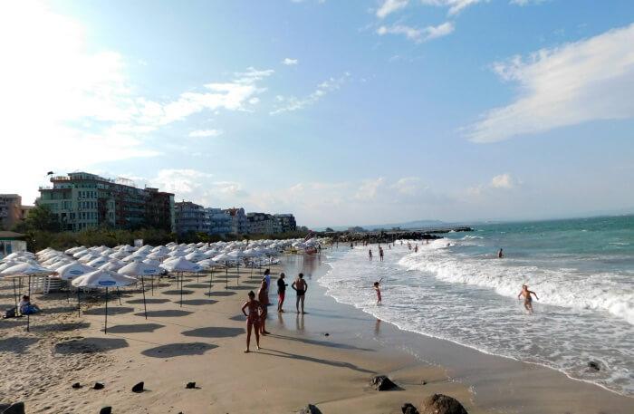 Pomorie Beach