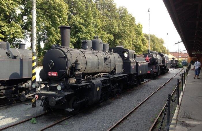 Railway Museum In Bratislava