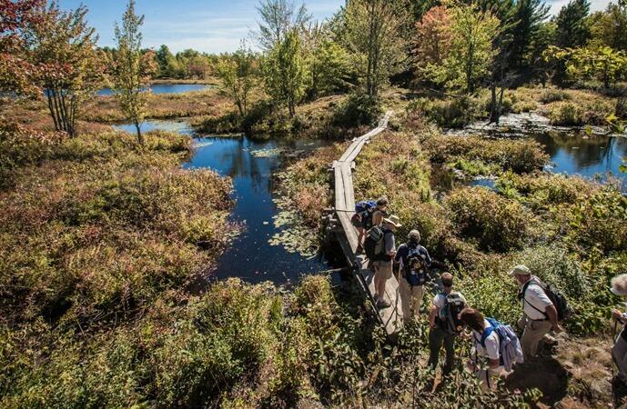 Rideau Trail in Canada