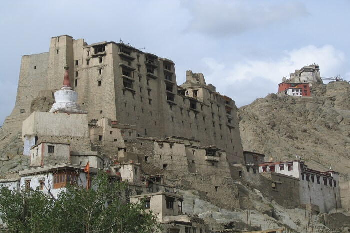 Famous palace in Leh