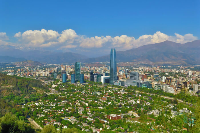 Santiago in Chile