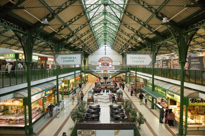Indoor Market Dealings Marketplace Market Sofia