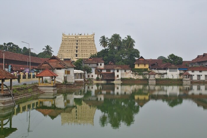 temple view from far