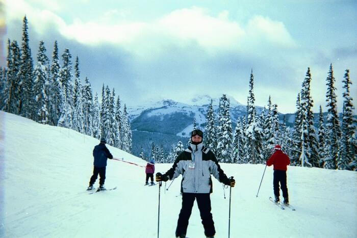 Ski trip In March
