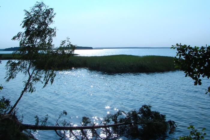 Sniardwy Lake in poland