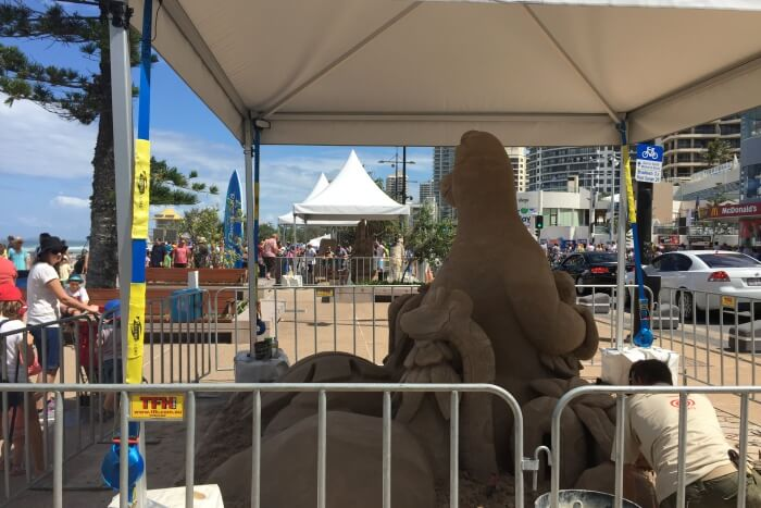 Surfers Paradise And Sand Safari Arts Festival