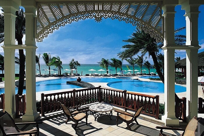 room view of hotel in mauritius