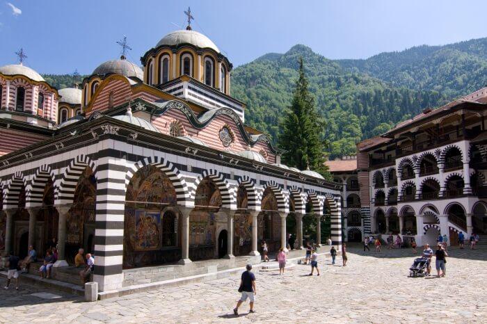 The Rila Monastery and the Rila Mountains