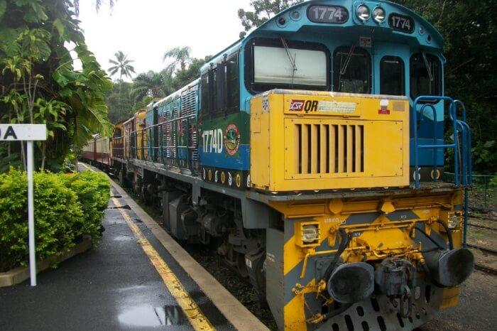 Train Ride to Kuranda