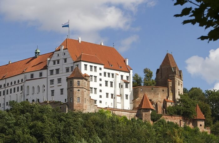 Trausnitz Castle View