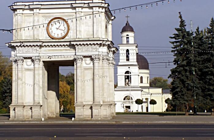 Triumphal Arch, Chișinău